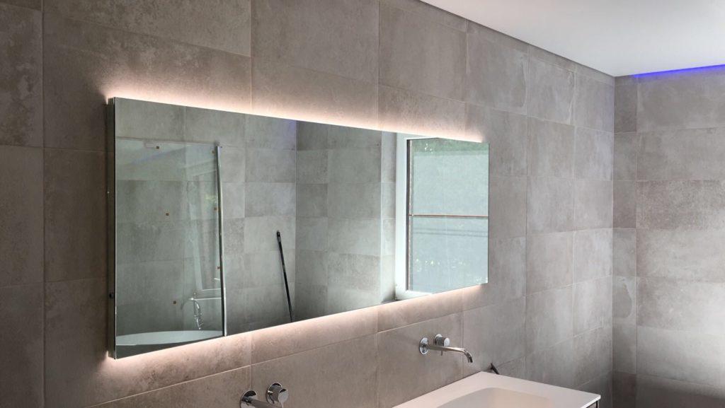 Spanplafond in de badkamer